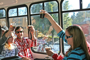 Beer on Tap on the Bus!